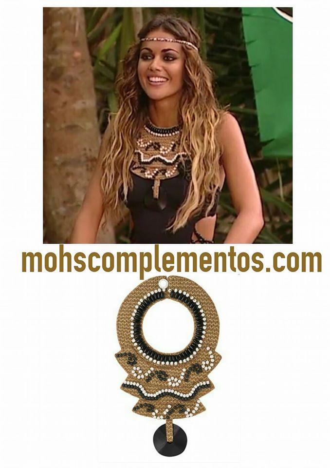 Lara Álvarez luce nuestro collar Wanaka